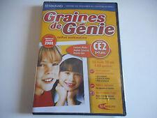 JEU DVD-ROM PC NEUF - GRAINES DE GENIE CE2 / 8-9 ANS