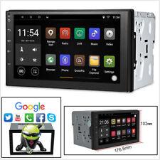 "Android 8.0 7"" HD 2 DIN 1+16G Car Stereo Radio GPS Navigation WiFi BT DAB FM AM"