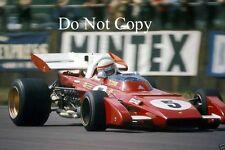 Clay Regazzoni Ferrari 312 B2 British Grand Prix 1972 Photograph 1