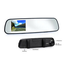 Coby Car Rear View Mirror & Camera 1080p Hd Dash Cam, Motion Detection, Dvr