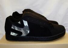ETNIES Fader Black Camo Nubuck Mens 11.5 Skate Sneaker Shoe 4101000203