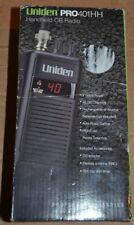 Uniden Pro401hh handheld CB radio new Pro 410HH 40 channel handheld professional