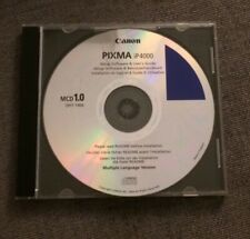 Canon PIXMA iP4000 Set Up software & User Guide CD ROM