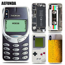 Funny Nokia Gameboy Beer Broken Case for iPhone X XR XS MAX Silicone Soft TPU