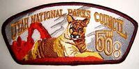 OA TU-CUBIN-NOONIE 508 UTAH NATIONAL PARKS BSA LODGE 50TH ANNIV SCOUT PATCH CSP