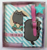 Pusheen The Cat Travel Set Passport Holder & Luggage Tag Gift Set