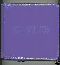 Creative Memories 7X7 Purple Consultant Star & Swirls