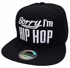 SnapBack cap hip-hop EE. UU. capuchón basecap gorra Cool Trucker style Cappy negro