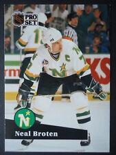 NHL 112 Neal pani Minnesota North Stars Pro Set 1991/92