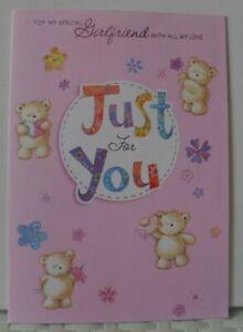 GIRLFRIEND BIRTHDAY CARDS