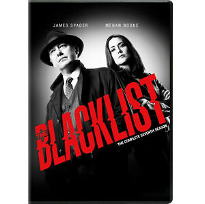 [DVD] The Blacklist Complete Seventh Season 7 NEW AU Free shipping