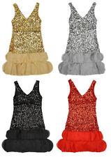 Vêtements en polyester sans manches pour fille de 3 à 4 ans
