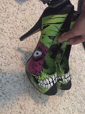 Iron Fist Zombie stomper Heels Size 7