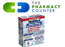 Neilmed sinus rinse saline nasal sachets Free P&P sinurinse natural sachets 120