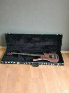 Warwick Fortress One Gitarre E Bass Vintage 4-saitig mit tKoffer