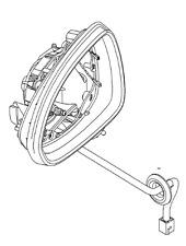 VAUXHALL REAR VIEW MIRROR - GENUINE NEW - 13188498