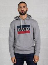 Levi's Graphic Po Hoodie-b cappuccio Uomo Grigio (84 Sportswear Logo Midtone G