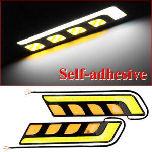 COB LED Car Light DRL Lamp Turn Signal Blade's Daytime Running Light 12V 0.24A