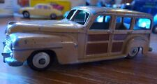Superbe ! DINKY TOYS Plymouth Woody Estate car modèle dinky 27 F 344 assez rare