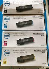 4 x Original Toner Dell H625 H825 S2825/NCH0D WG4T0 042T1 2RF0R Cartridge Set