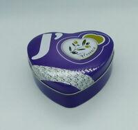 """Boîte en métal coeur """"j'aime la Provence"""""""
