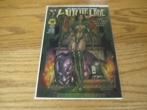 WITCHBLADE #40 Dynamic Forces Exclusive Omni Chrome Cover COA RARE HTF