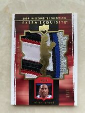 2009-10 ud extra exquisite elton brand patch /50