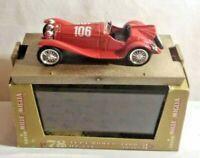 BRUMM 1:43 SCALE 1932 ALFA ROMEO 2300 HP142 - RED - MILLE MIGLIA - R78 - BOXED