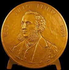 Médaille homme politique Jules Ferry Ecole Laïque 68mm 147g  par Lay Medal