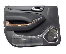 84192446 Left Driver Side Door Panel Jet Black 2015-20 Chevrolet Suburban Tahoe