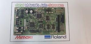 Genuine Roland Soljet Pro III XC-540 Printer Assy Servo Board 6700311000 *