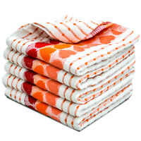 Towelogy® 6 x Cotton Terry Tea Towel Kitchen Catering Jumbo Cleaning Dish Cloths