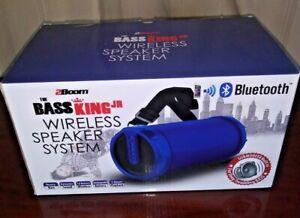 2Boom The Bass King Jr. Wireless Speaker System