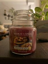 Yankee Candle 14.5 oz Farmhouse Apple Candle Jar Housewarmer Retired Scent