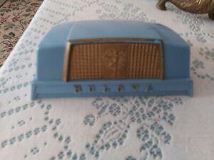 Vintage Bulova Goddess Of Time Watch Case Art Deco 1950 Plastic VGUC