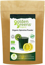 Organic Spirulina Powder, 200g - Gently Dried and Powdered for Maximum Nutrition