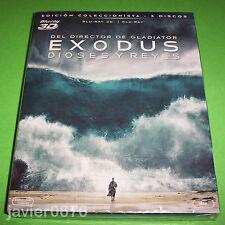 EXODUS DIOSES Y REYES BLU-RAY 3D + BLU-RAY NUEVO Y PRECINTADO