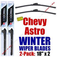 WINTER Wipers 2-Pack Premium Grade - fit 1985-2005 Chevrolet Astro - 35180x2