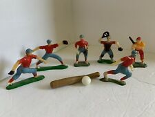Vintage Baseball Cake Decor Plastic