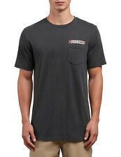 Volcom Rebel Radio Short Sleeve T-Shirt in Black