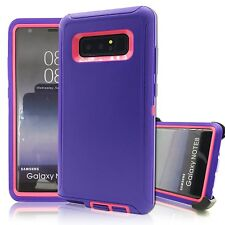 For Samsung Galaxy NOTE8 Defender Impact Proof Case Rugged Clip Fit Otterbox PP
