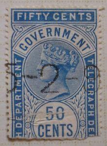 Victoria & Edward VII Fiscals: Telegraph; Foreigh Bill; Government.