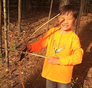Boys Long Sleeve Shirt 10 I Like Big Bucks Deer Hunter's Orange Fall Handmade