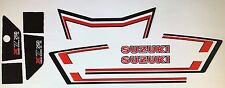 SUZUKI X7 250 GT250 GT250E MK2 RESTORATION DECAL SET WHITE MODEL