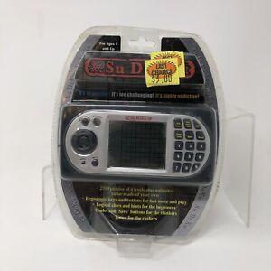 MAXIMO Super *SUDOKU SU DOKU* handheld electronic game 16000 puzzles w/ Battery
