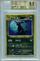 Umbreon Japanese Pokemon BGS 9.5   Neo 2 Discovery Card # 197 Holo Amricons