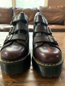 Doc Martens Coppola Platform Boot Burgundy US Women's Size 7
