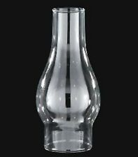 """New Kerosene Oil Lamp Chimney 3"""" x 8 1/2""""     #23975  BOROSILICATE Glass"""
