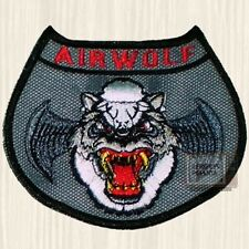 Airwolf Suit Logo Patch Helicopter Santini Air Dominic String Hawke Arms Flight