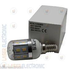 Lampadina a Led 8 Watt E14 Attacco Piccolo Chip Samsung SMD5630 Bianco Naturale